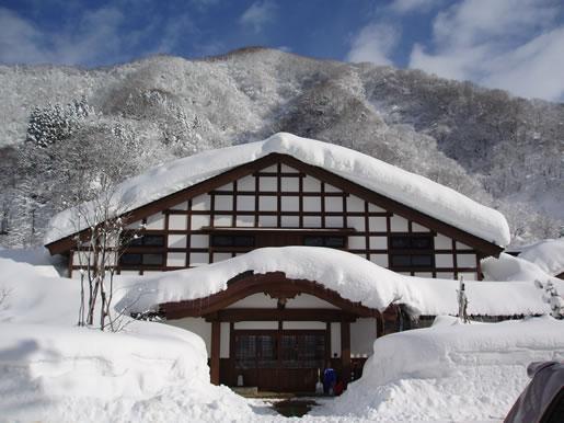 冬の白山里